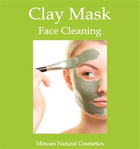 GREEN CLAY MASK FACE CLEANING 100gr